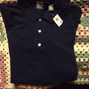 GAP XL short sleeve navy shirt NEW with tag